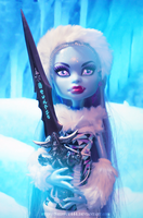Monster High- Abbey and Frosty by ShiVoodoo