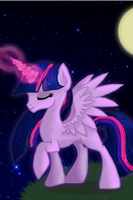 Princess Twilight Sparkle by Knight-of-Bacon