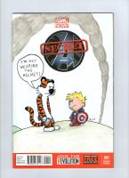 Calvin and Hobbes Secret Avengers by johnnyism