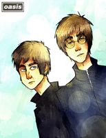 the gallagher bros by beagleamarelo