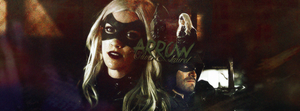 Arrow and Black Canary  - Arrow by ContagiousGraphic