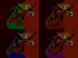 OoT 4 Links by TheHylianHaunter
