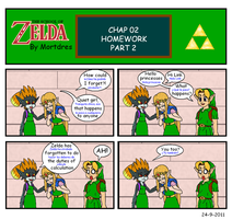 The School of Zelda - 02 by Mortdres