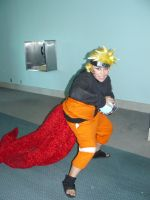 Four-Tailed Kyuubi Naruto by defy-law