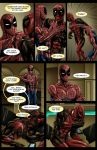 Spideypool Comic 'Never Say Never' Page 7 by jijikero