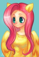 Human Fluttershy by so-squiggly
