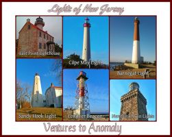 Lighthouses of New Jersey by unemployedmagician