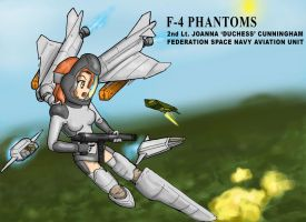 LANCERS-F4 Phantom by OtakuBouzu