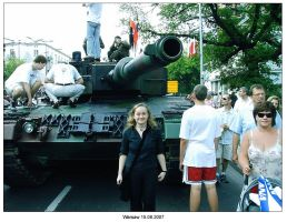 Warsaw military parade-me-tank by SoundOfColor