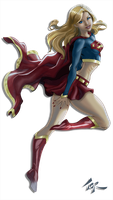 SupergirlCutout by torsor