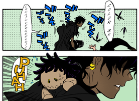 Tyki and Plush Road by LunaInverseElric