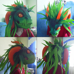 Fruit Zerg Mask by LORD-AGAMA