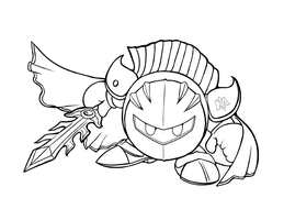 INK Meta Knight by charfade