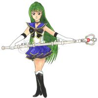 Seramyu Sailor Pluto by mene