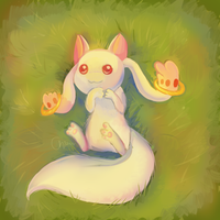 Kyubey by C-H-I-Z-U
