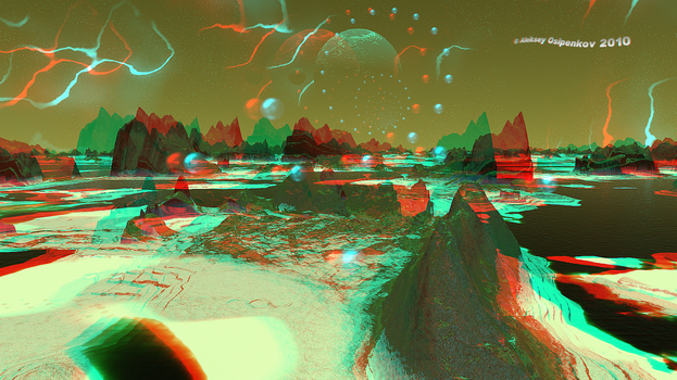 The Contact Formula Anaglyph 3D by Osipenkov