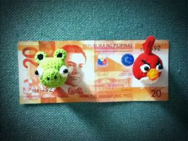 mini angry birds magnet by handfree
