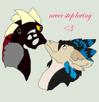 Never Stop Loving by crystalwolfahlpa50