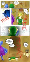 Mishaps of Link by Alamino