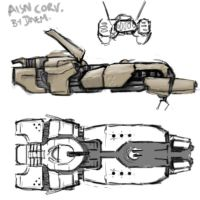 aisn corvette ORTHO by strangelet