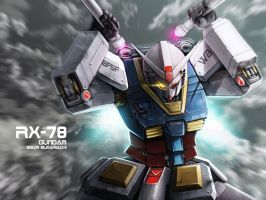 RX-78 GUNDAM by REAL-ELMARIACHI