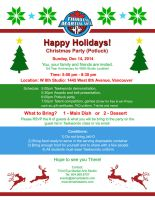 Third Eye Martial Arts Christmas Party 2014 by RinnG