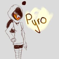 Pyro Sketch by PERKoverload526