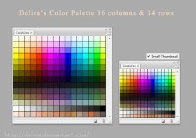 Color Palette by delira