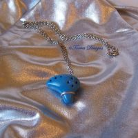Ocarina of Time Pendant Necklace 4 ZELDA by TorresDesigns
