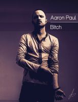 Aaron Paul Illustration Poster by Lucsy3012