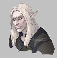 Commission Altmer by VictoriaDAEDRA