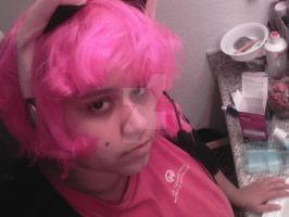 New Headset + Wig WIP by chaoticlatina