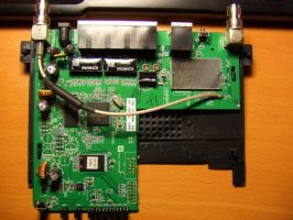 Linksys WRT54GS V6 inside by PaulRokicki