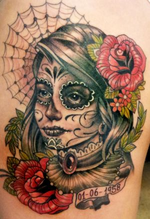 day of the dead tattoo 5
