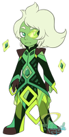 Homeworld Emerald - Steven Universe by iPhysik