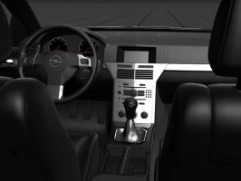 Opel Astra Interior Test by prox3h