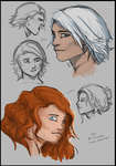 Elias and Catalina - Style Practice by ArmadaPaw