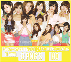T-ARA - PACK PNG#01 by JeffvinyTwilight