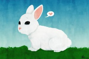 Lil' Bunny by Valliegurl