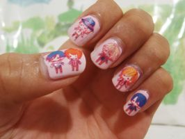 Uta No Prince Sama - Nail Art by drawwithme15