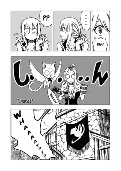 Fairy Tail- Mission Cupid Doujinshi p5 by LadyGT