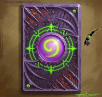 Warlock card back by itzaspace