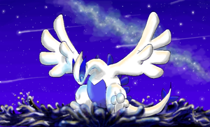 Lugia by Claudia-Sierra
