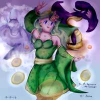:GA: The Summoner of Mist by nintendohime