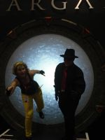 Stargate Travelers by Laserbot