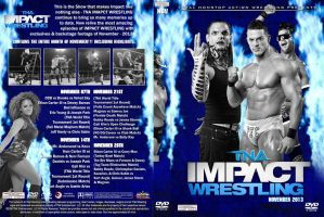 TNA Impact Wrestling 2013 DVD Cover by Chirantha