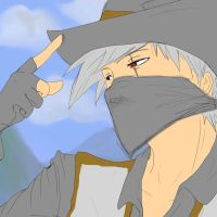 Cowboy Kakashi by Izzymatic
