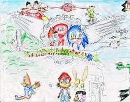 sonic fanfic title pic by spark300c
