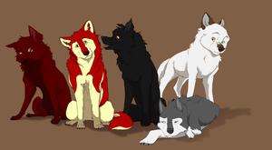Characters for Ukari by DawnFrost