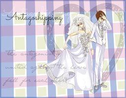 Antagoshipping wedding by WakoBitchy